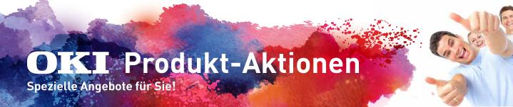 OKI Produkt-Aktionen